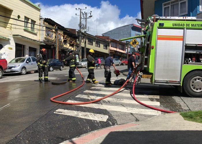 Castro: se detectó fuga de gas en pleno centro de la ciudad.