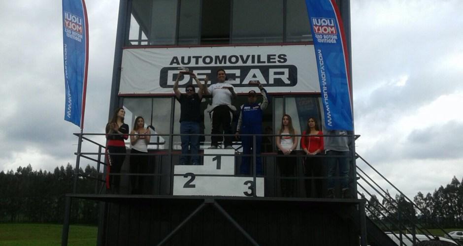 Chilote logra primer lugar en  campeonato de automovilismo nacional