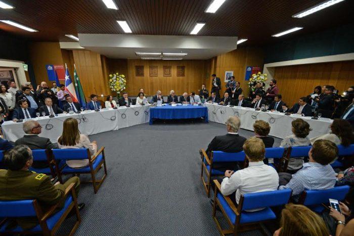 Regional: juró nuevo Consejo Regional de Los Lagos.