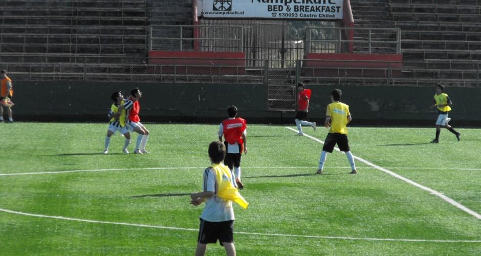 Se inicia liga provincial de fútbol formativo