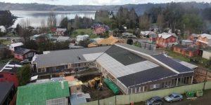 Castro: destacan avance en reposición de escuela de sector Nercón.
