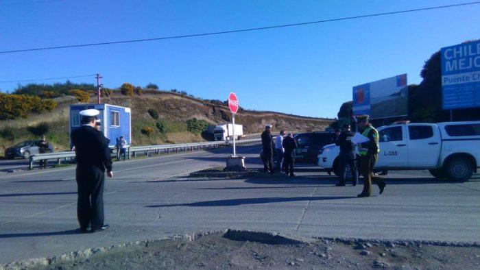 Chacao: operativo policial descartó presencia de explosivos en vehículo de carga.