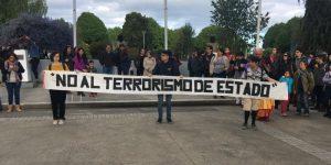 Castro: pueblos originarios se manifiestan por asesinato de comunero mapuche.