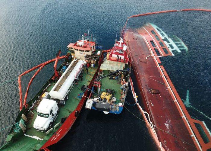 Castro: preocupación por maniobra de descarga de agua de mar del Seikongen.