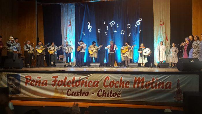 Castro: se realizó la cuadragésima versión de la Peña Folclórica Coche Molina.
