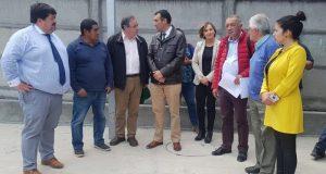 Castro: Consejo en terreno supervisó obras en construcción en la comuna.