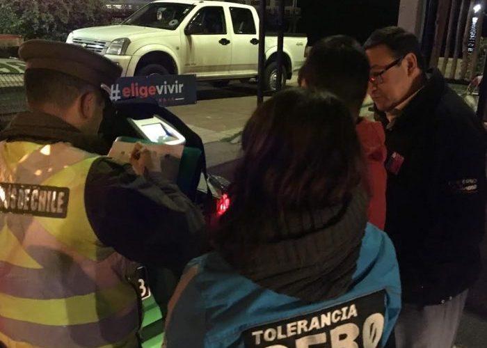 Regional: comenzaron controles preventivos Tolerancia Cero al Consumo de alcohol y otras drogas.