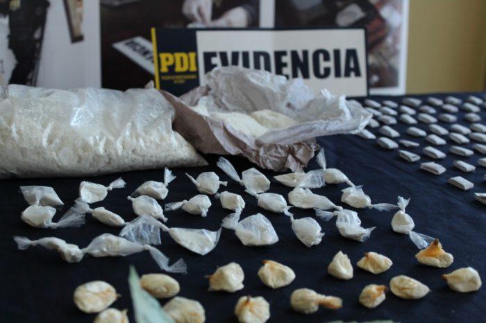 Regional: aumentan incautaciones por tráfico de drogas.
