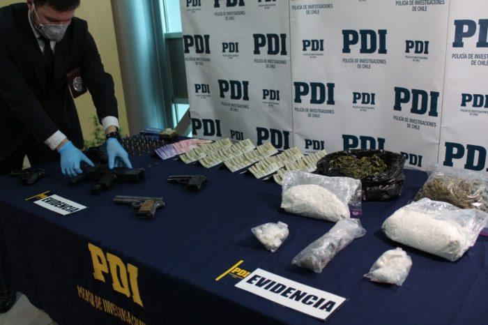 Regional: desbaratan banda de narcotraficantes.