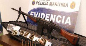 Puerto Varas: Ejercito descarta que armamento de guerra incautado en Quellón pertenezca a la institución.