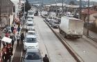Quellón: bus de la movilización colectiva atropelló a una transeúnte.