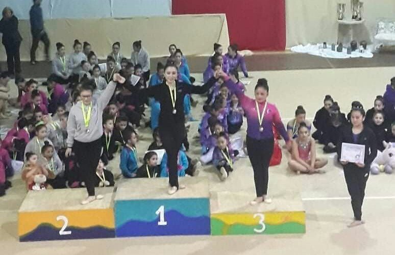 Liceo Politécnico brilla en gimnasia rítmica