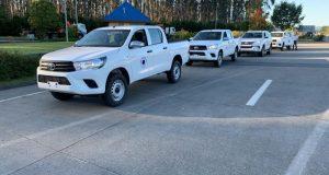 Curaco de Vélez: municipio renueva flota de vehículos para entregar mejor atención a la comunidad.