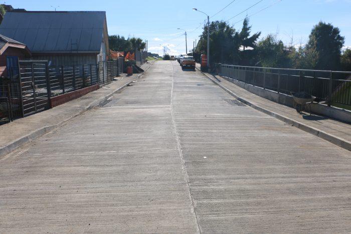 Castro: programa de pavimentación beneficiará a tres calles el año 2020.