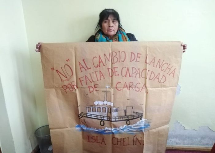 Castro: continúa preocupación de vecinos de isla Chelín por nueva licitación al transporte marítimo subsidiado.