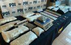 Puerto Montt: PDI desbarata banda de traficantes realizando millonaria incautación