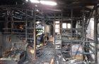Ancud: incendio afectó a dos viviendas.