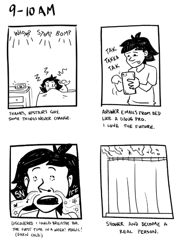 Hourly Comic Day 2016 - 1