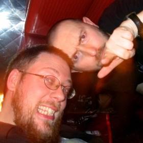 Kirk and me, at Bastard
