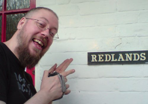Redlands Silly point - taken by Kirk