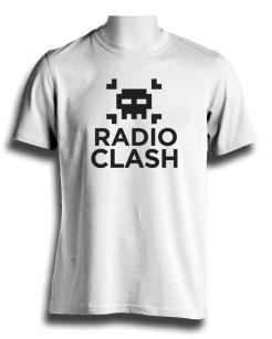 Radio Clash Tshirt White