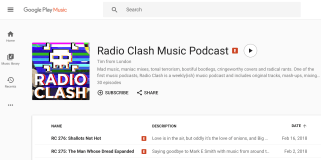 Radio Clash on Google Play...plug plug! Took me ages to get it on there too. So I can brag :-P