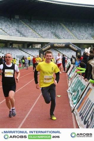 Dan Izvoreanu la maraton