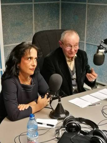 prof. univ. dr. emerit G.G. Neamţu şi conf. dr. Daiana Cuibus
