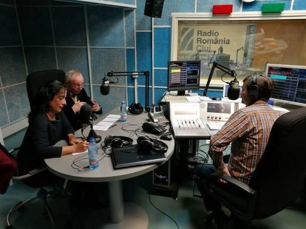 Dan Moşoiu, prof. univ. dr. emerit G.G. Neamţu şi conf. dr. Daiana Cuibus