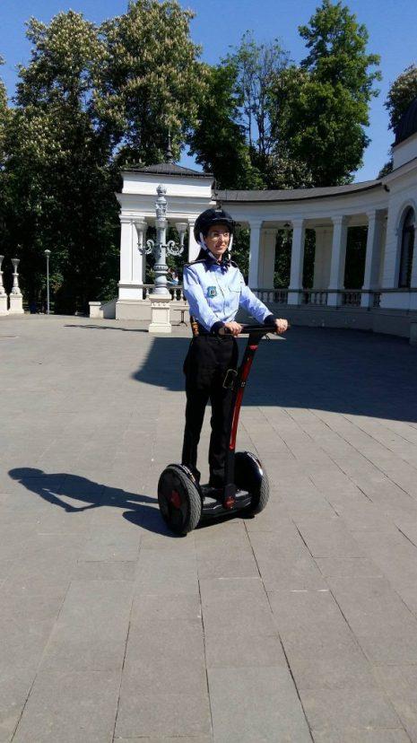 politia pe segway