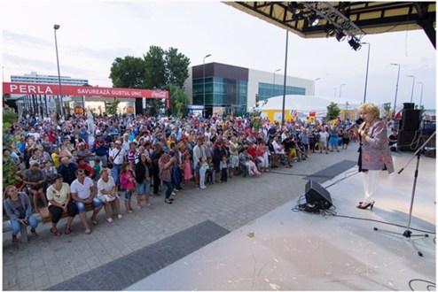 Corina Chiriac & Big Band-ul Radio - Radio Vacanta 50 de ani - Foto. Alexandru Dolea