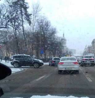 străzi necurăţate în Cluj