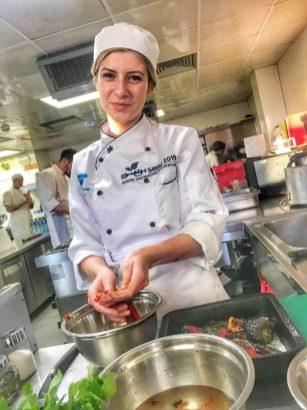 Andra Andriuc locul 2 în finala European Young Chef Award---
