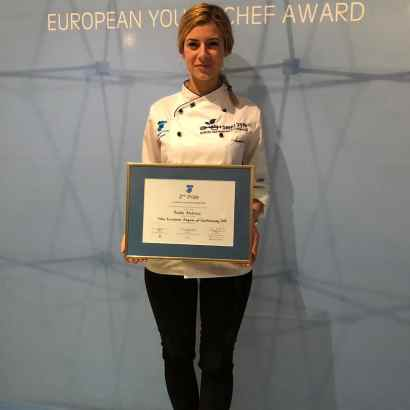 Andra Andriuc locul 2 în finala European Young Chef Award - Copy