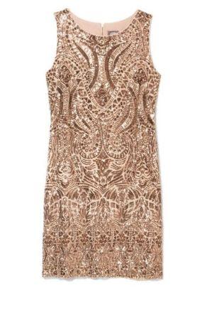 rochie statement bogat ornamentata