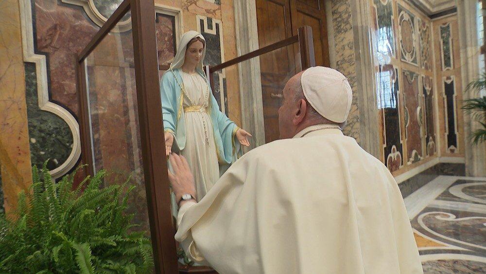 La Madonna della Medaglia Miracolosa pellegrina in Sicilia Dal 1° marzo