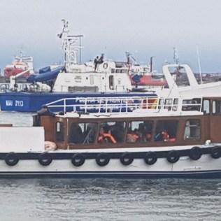 migranti port
