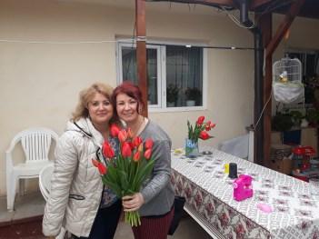 Liliana Fustanela și Valentina Koker