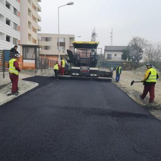 reabilitare carosabil asfaltare foto PMC