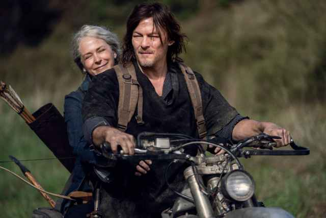 Carol y Daryl - The Walking Dead - Temporada 10, parte C