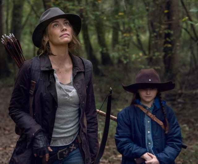 Maggie - Judith - The Walking Dead - Temporada 10, parte C