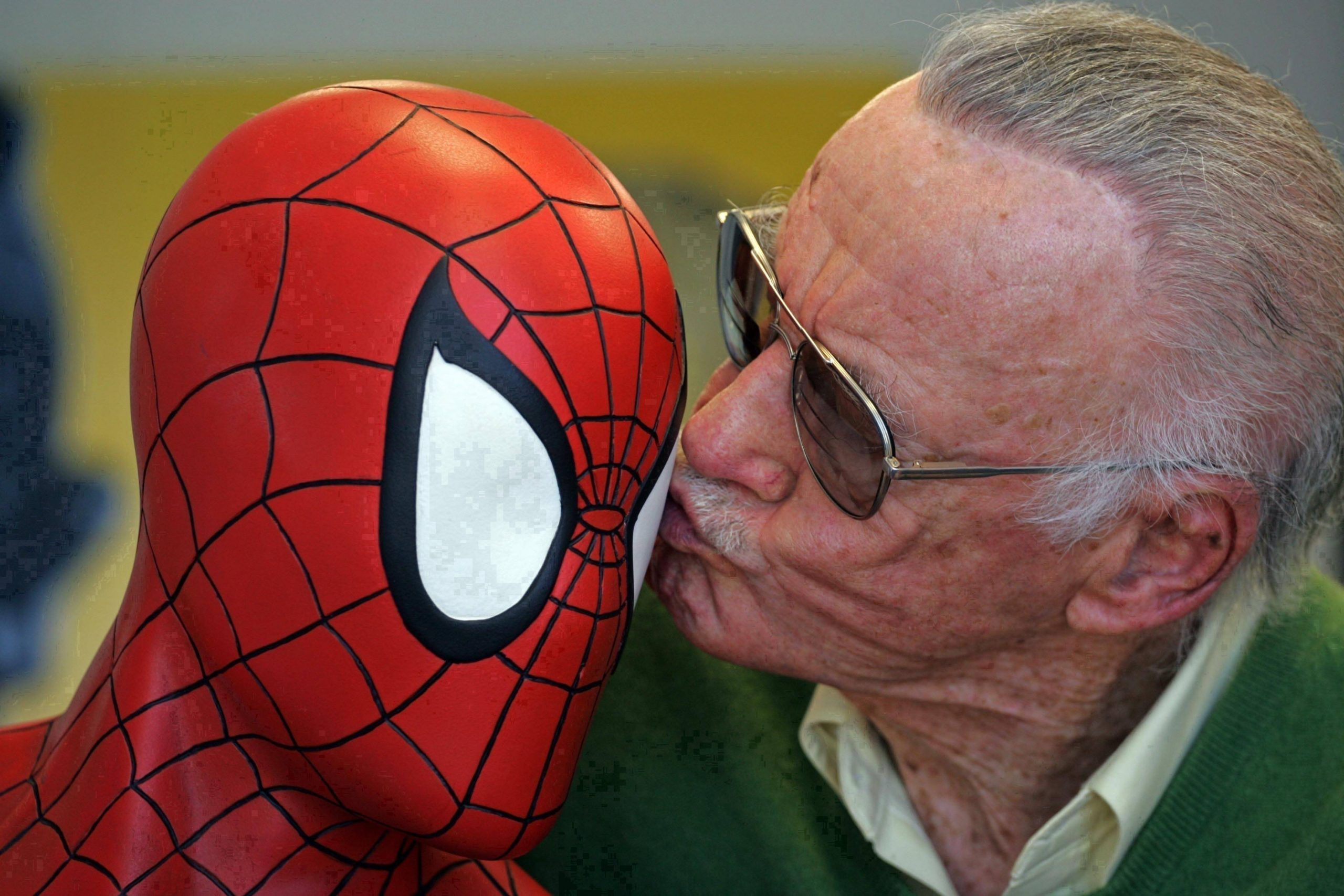 Spiderman y Sstan Lee
