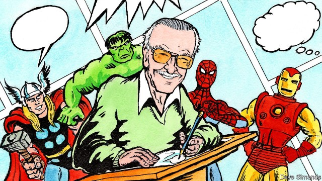 Stan Lee - Marvel Comics