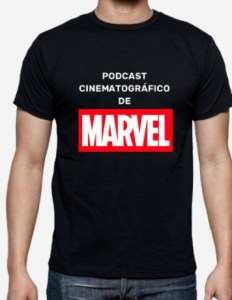 Camiseta Podcast Cinematográfico deMarvel