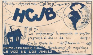 HCJB Pifo - End of an Era