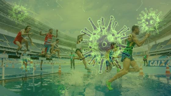 Coronavirus, el  mayor  y peor  ataque  al  deporte  mundial