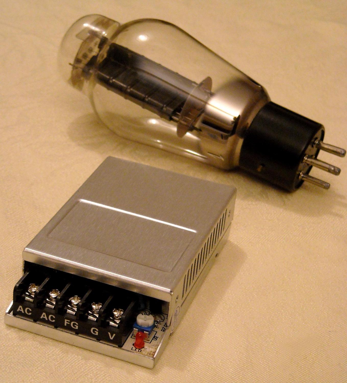 Heating Block 5 V 4 Amp Regulated For 300b Ampli Al Radioelec Electronics Components
