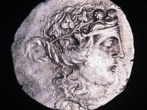 Νόμισμα Μαρώνειας των ελληνιστικών χρόνων, Διόνυσος