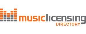 music license logo