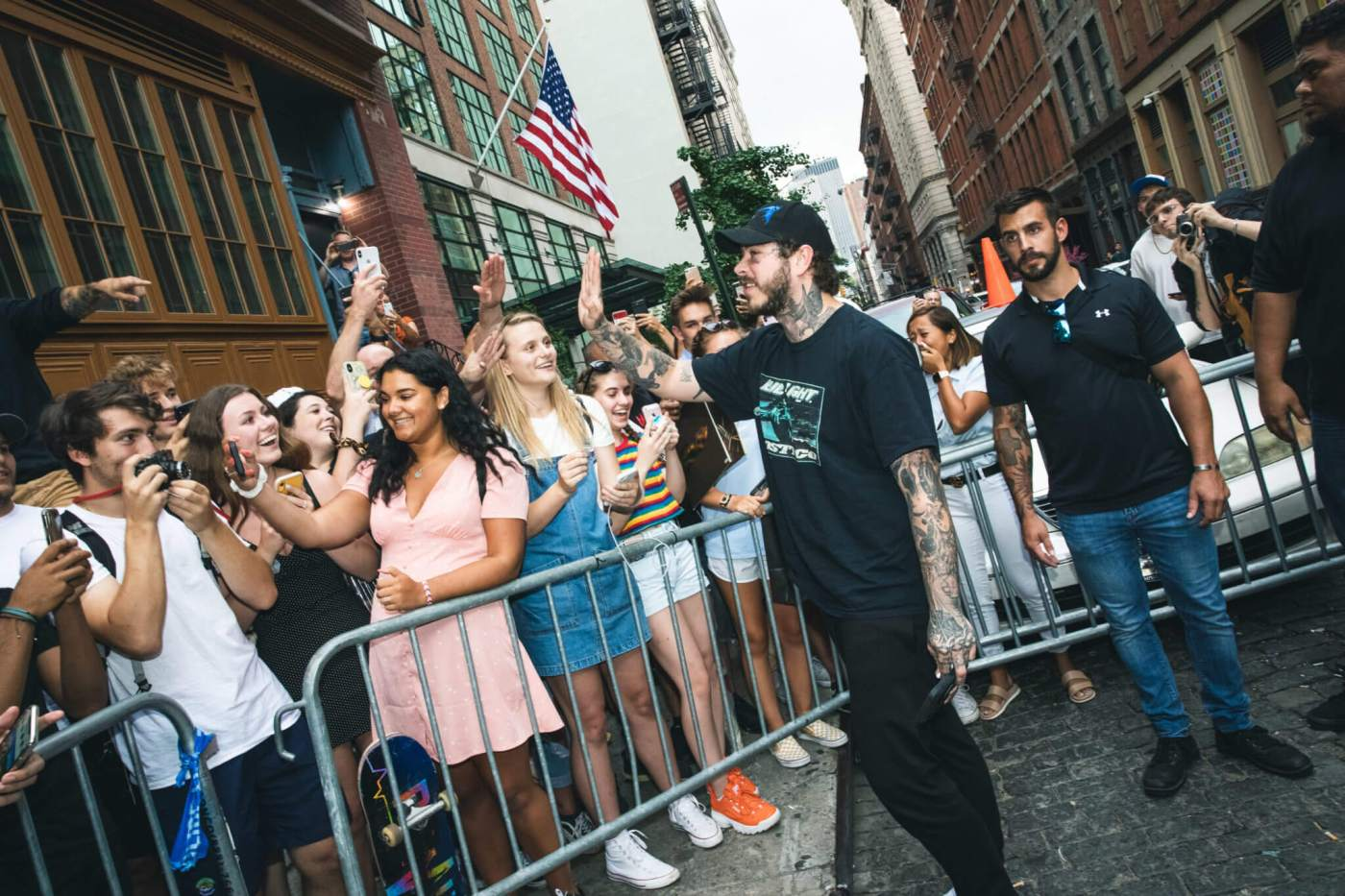 Post Malone Headlined Bud Light Dive Bar Tour Last Night in NYC